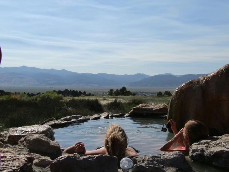 Hot Springs? Middenin de natuur? Yup!