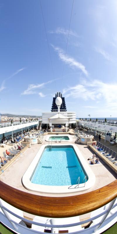 Jongeren cruise Spanje