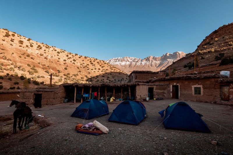 Kamperen in Marokko