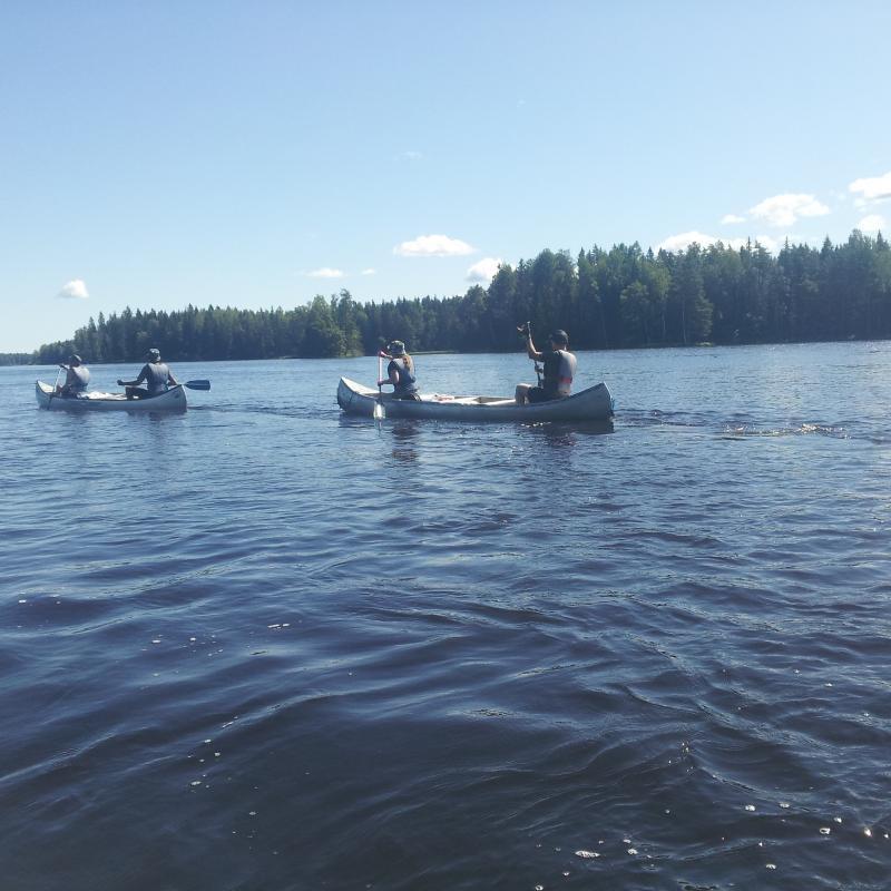 Kano tochten zweden