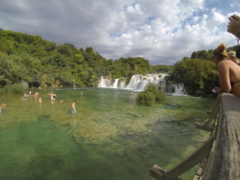 Krka watervallen excursie