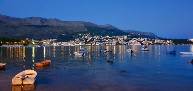 Kroatië in de avond