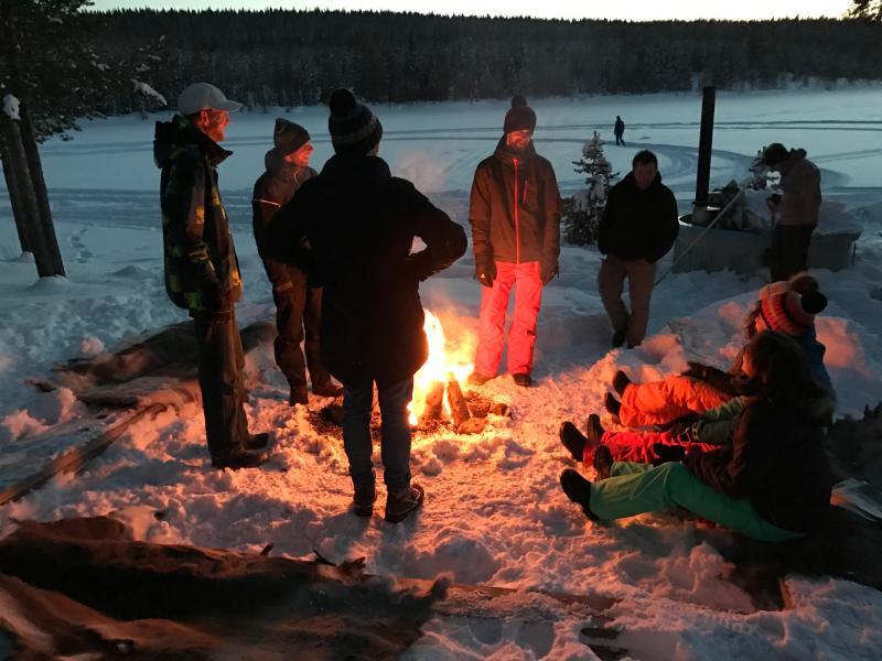 Lapland winter groepsreis