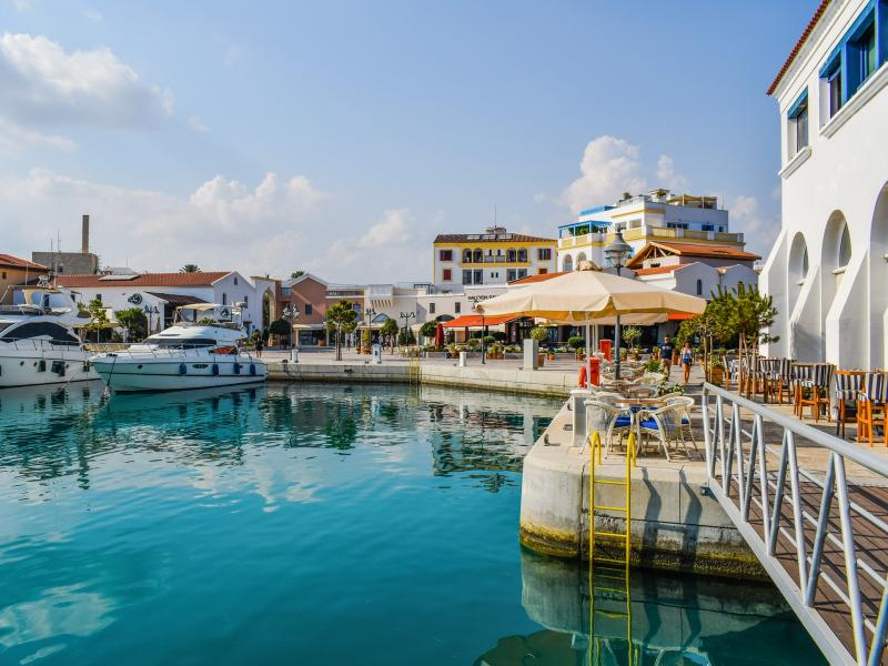 Limassol, Cyprus, Marina jachthaven