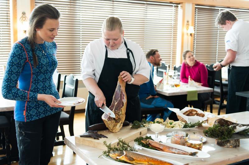 Lokaal eten in Noorwegen