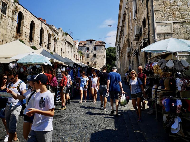 Markt in Split