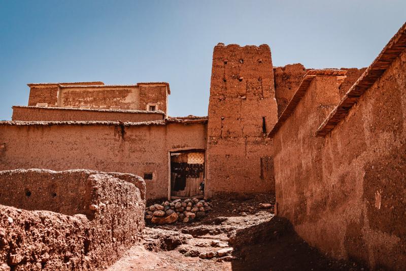 Marokkaanse dorpjes