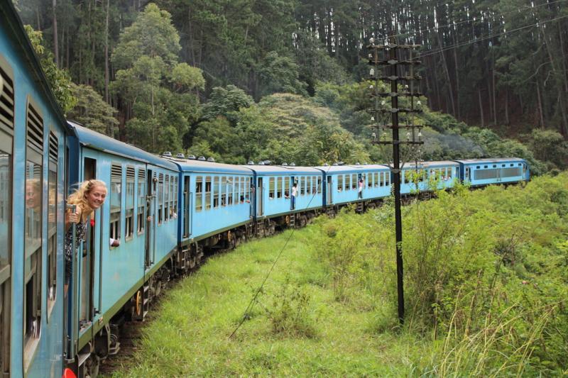 Met de trein vanaf Ella