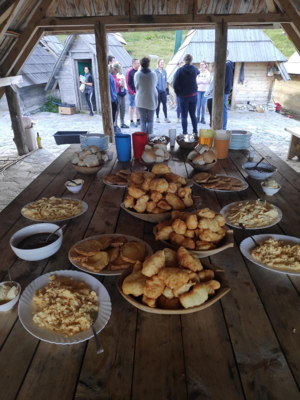 Montenegrijns ontbijt