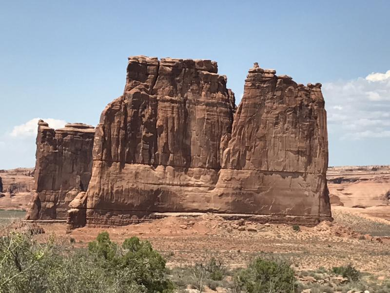 Monument valley rotsen