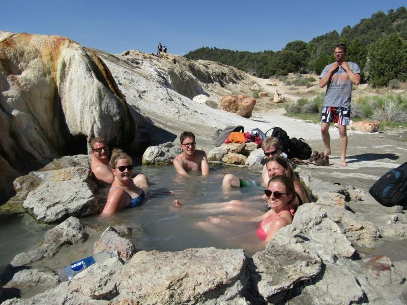 Natuurlijke hot springs