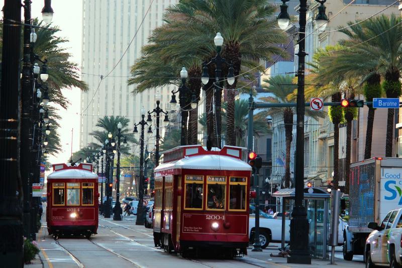 New Orleans, trammetjes