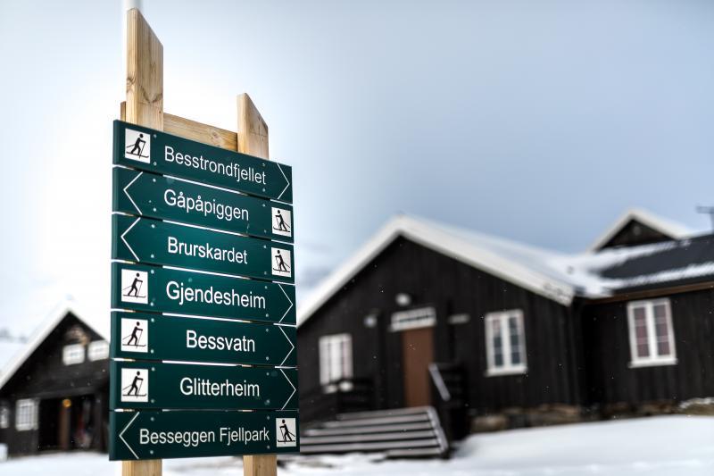 Noorwegen in de winter - omgeving