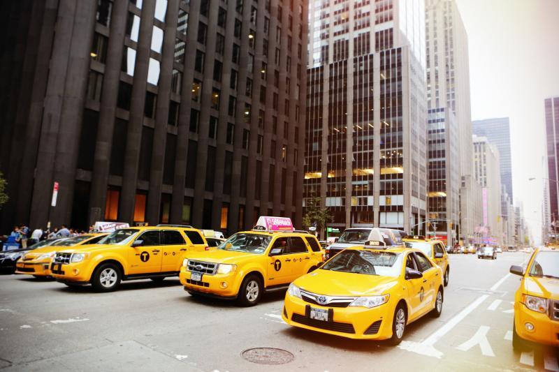 NY yellow cabs