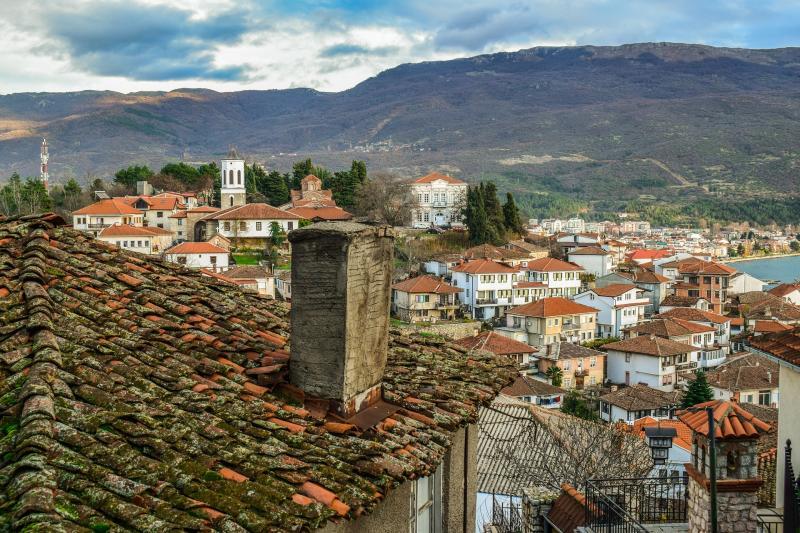 Ohrid, Macedonie