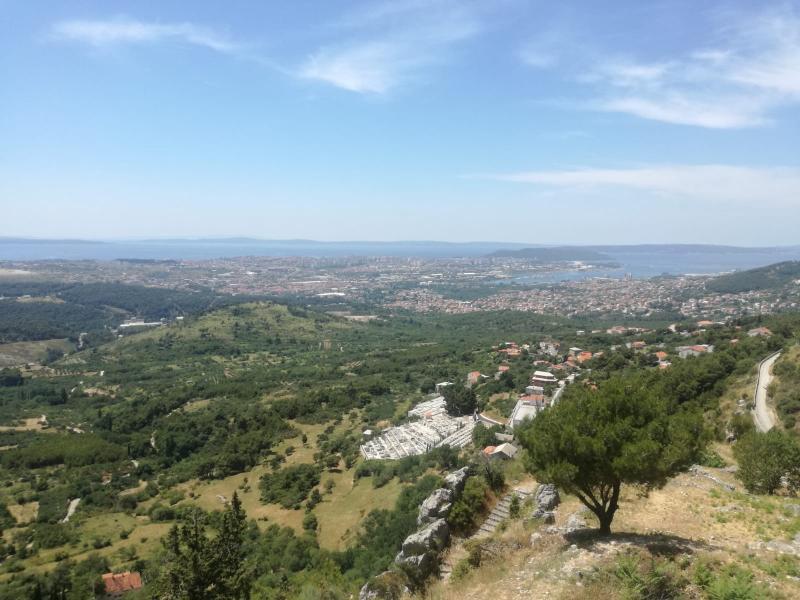 Optioneel bezoek aan kasteel in Split