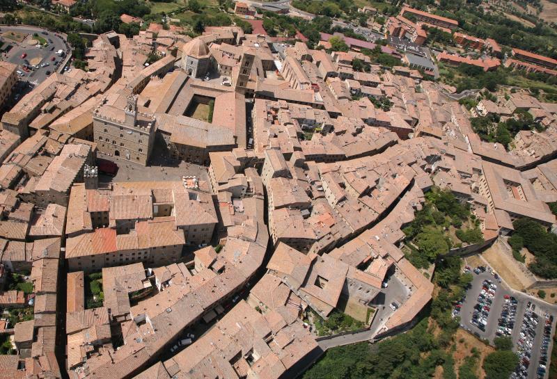 Panorama van Volterra