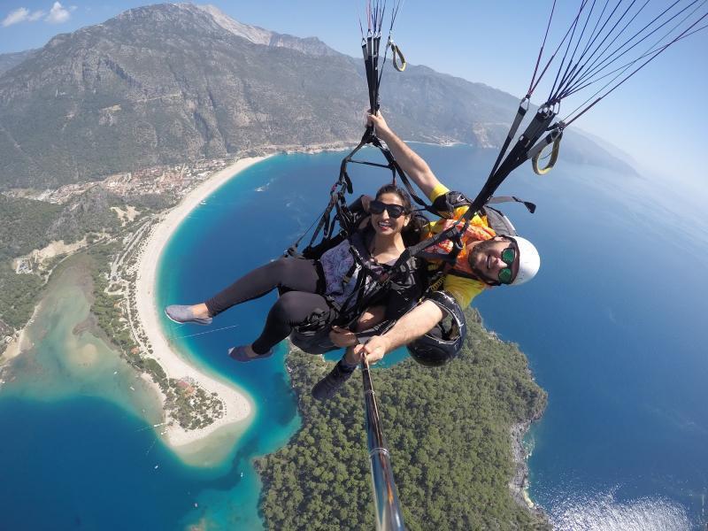 Paragliden optioneel