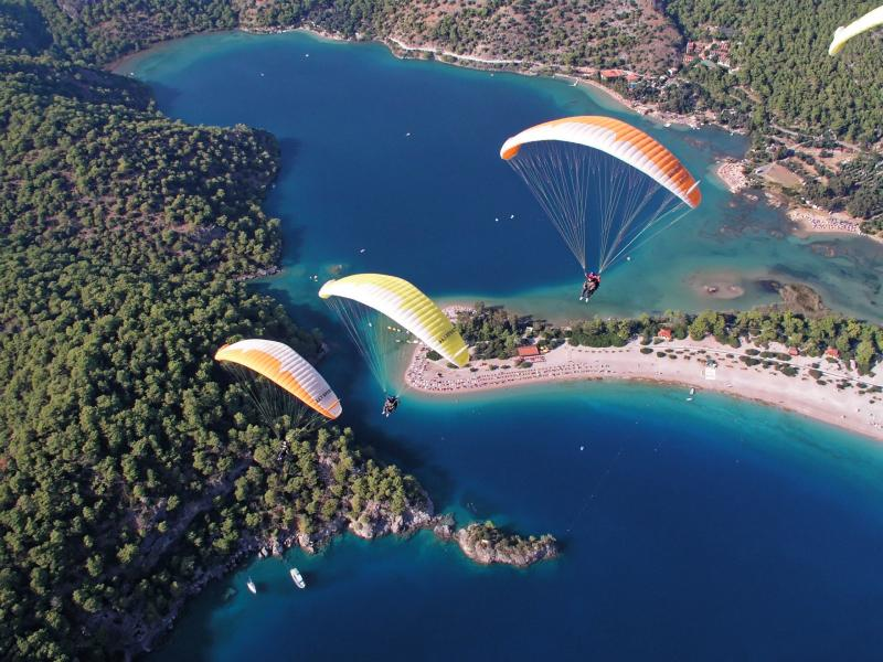 Paragliding Turkije Fethiye