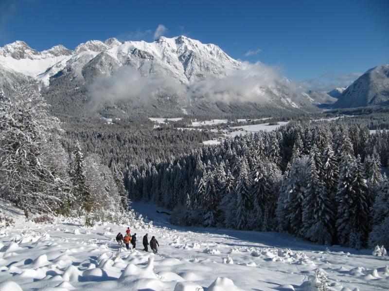 Prachtig uitzicht op de Oostenrijkse Alpen!