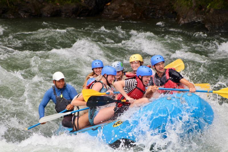 Raften op de Pacuare rivier
