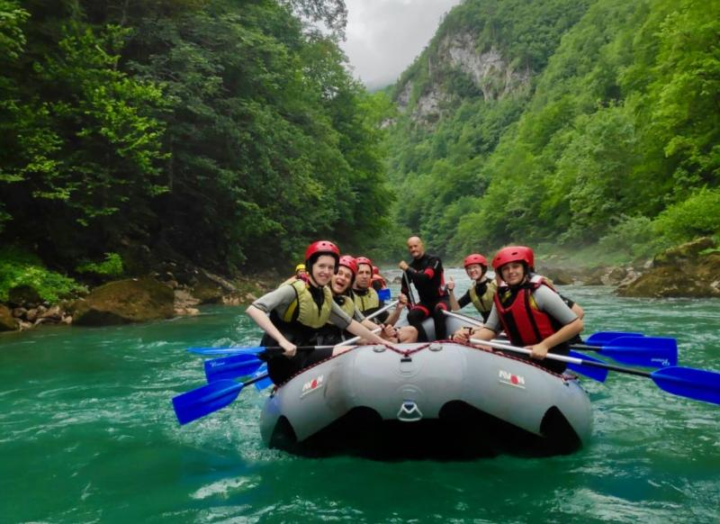 Raften Tara rivier