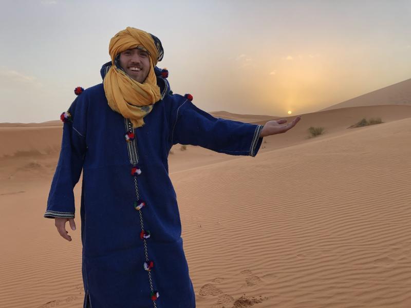 Sahara bezoek