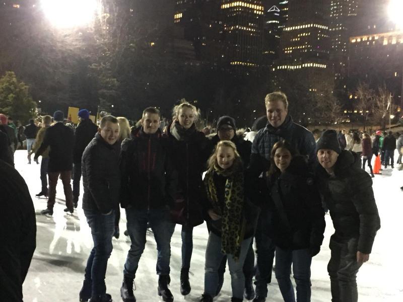 Schaatsen in het Central Park