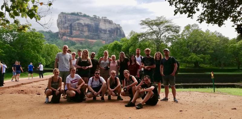 Sigiriya Lion Rock in Sri Lanka