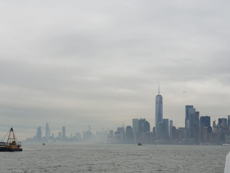 Skyline vanaf het water