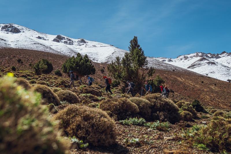 Sneeuw in Marokko