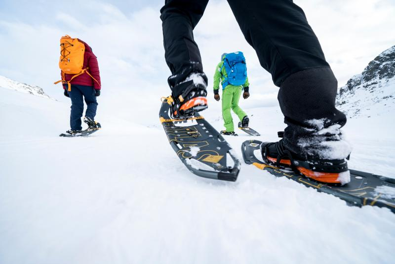 Sneeuwschoenwandelen in Noorwegen