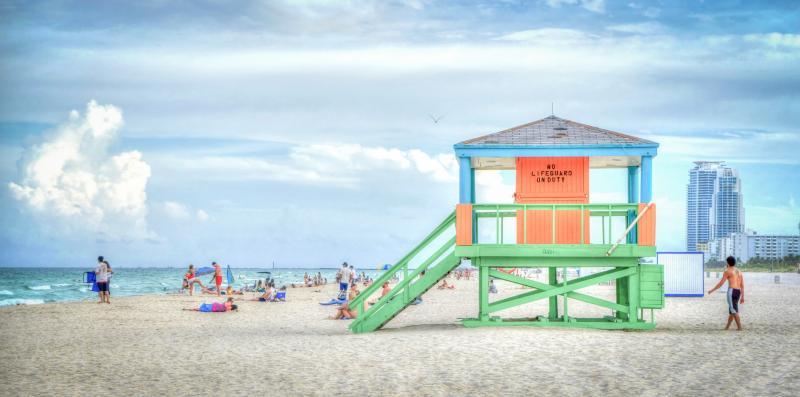 South Beach, Florida Stad