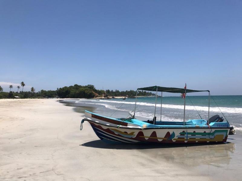 Sri Lankaanse bootjes