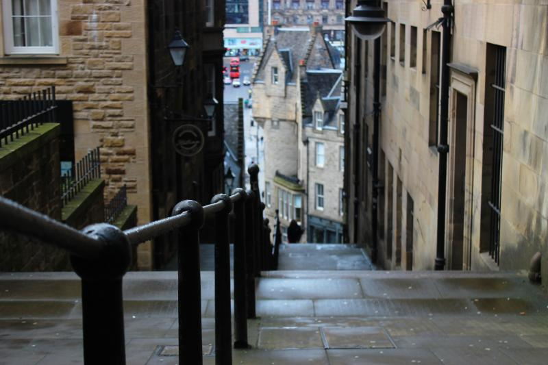 Straatjes in Edinburgh