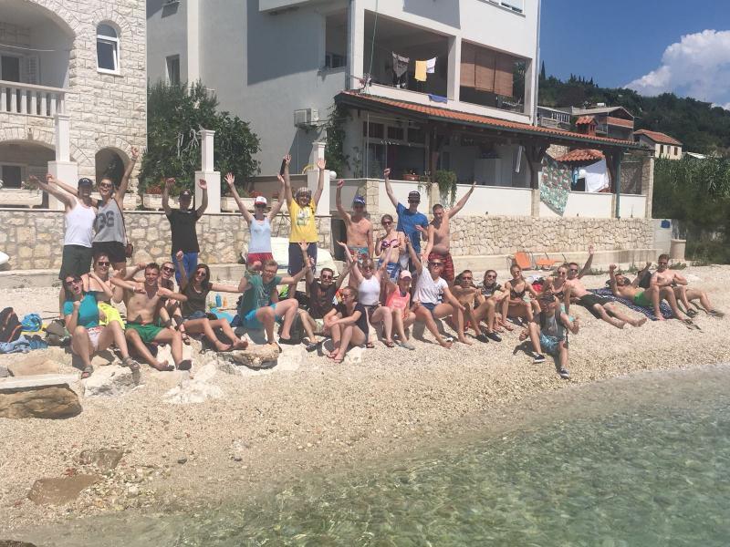 Strand jongerenvakantie kroatie