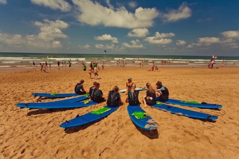 strand surfvakantie
