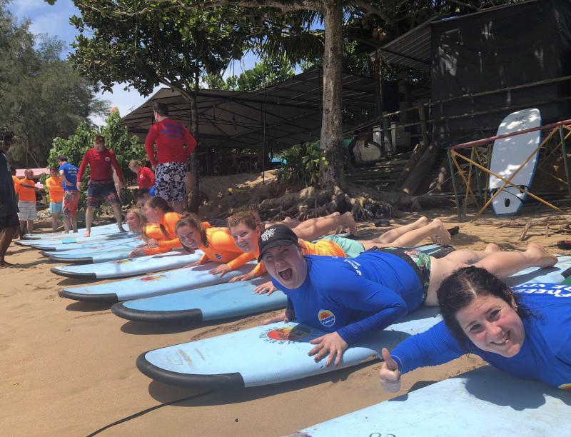 Surfen in Sri Lanka