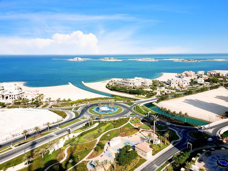 the pearl Qatar in Doha