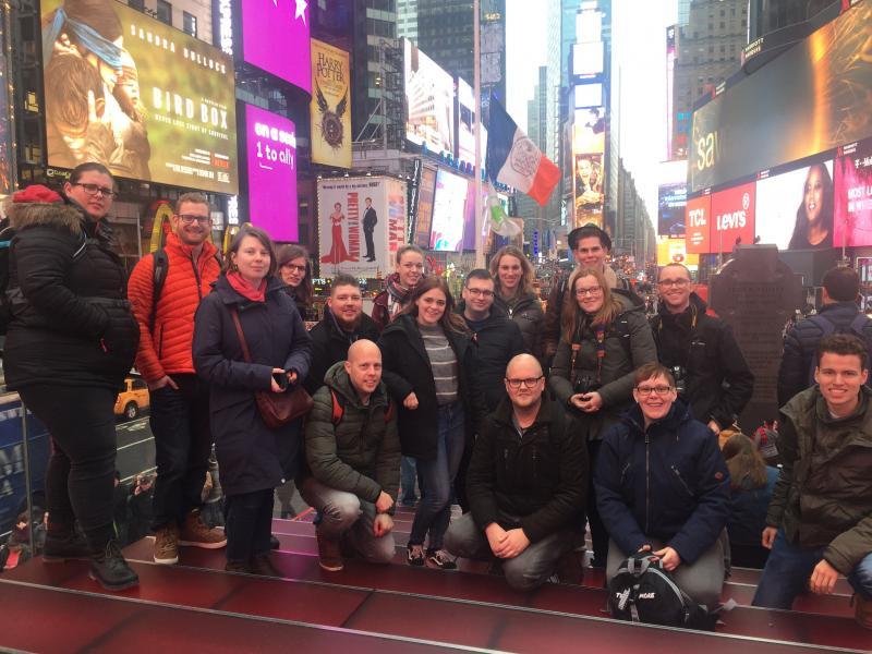 Times Square bezoeken