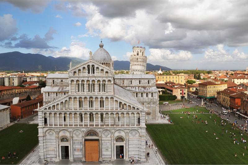 Torre e Duomo, Pisa