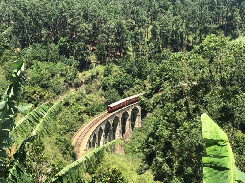 Trein Sri Lanka door theeplantages