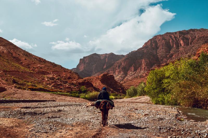 Trektochten Marokko