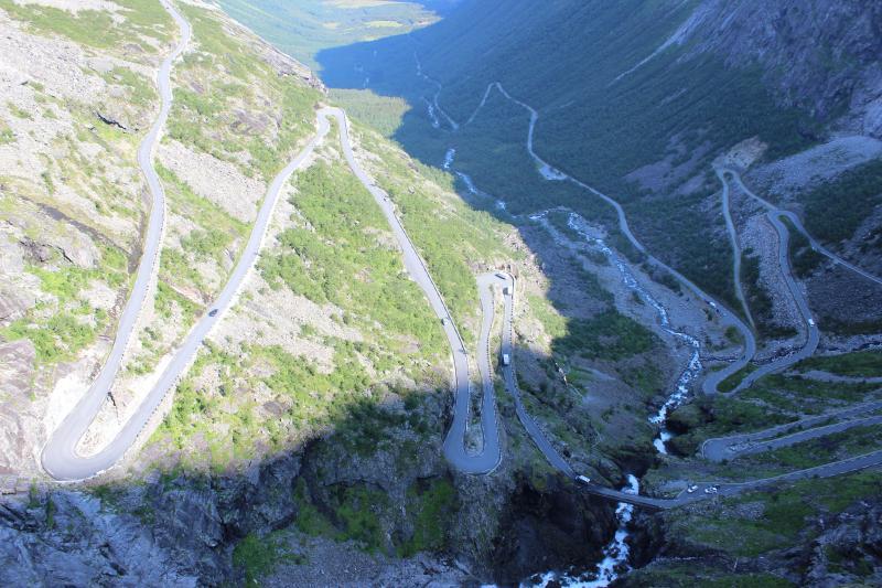 Trollstigen Noorwegen
