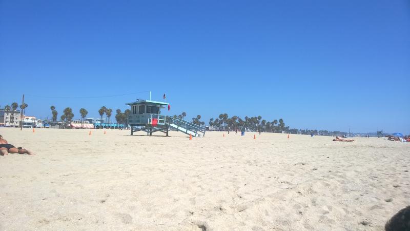 Uitgestrekte stranden langs highway 1