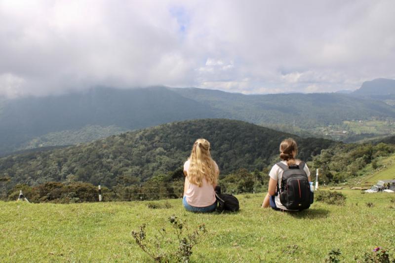 Uitzicht in Sri Lanka