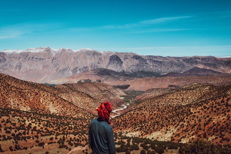 Vergezichten Marokko