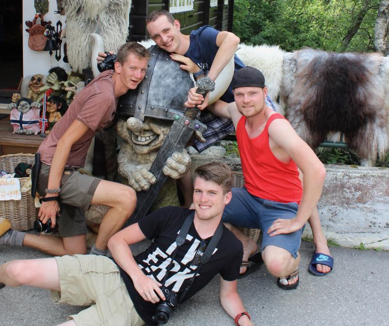 Vikingen en trollen!