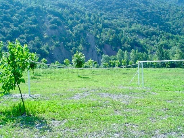 Volleyballen in de natuur