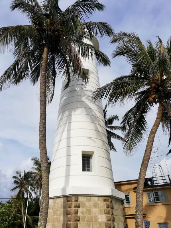 Vuurtoren in Sri Lanka